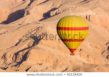 Hillside tombs in the valley of the kings egypt Stock photo © sophie_mcaulay