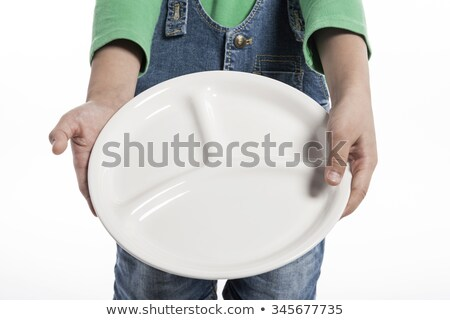 Blue empty food tray Stock photo © karandaev