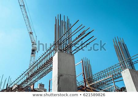 peinture · bureau · plafond · maison · peinture · chambre - photo stock © ifeelstock