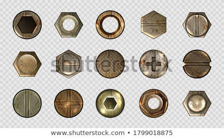 rusty nails and screws stock photo © vavlt