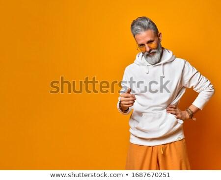моде человека рук бедра молодые Сток-фото © feedough