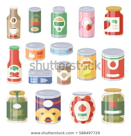 Tinned Cucumbers Stock photo © Elmiko