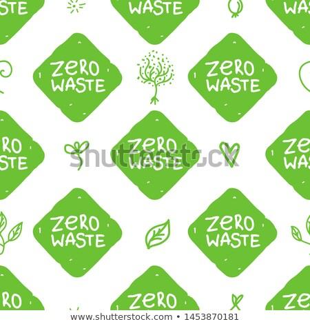 verde · establecer · eco · etiquetas · gradiente - foto stock © mikemcd