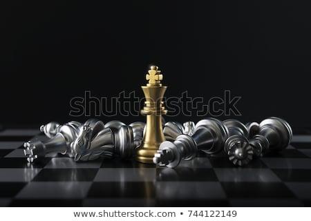 Victoria ajedrez último competencia negocios deporte Foto stock © silense