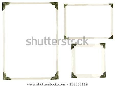 vector · establecer · foto · marcos · aislado - foto stock © thp