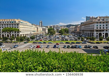 Genova - Piazza della Vittoria overview Stock photo © Antonio-S