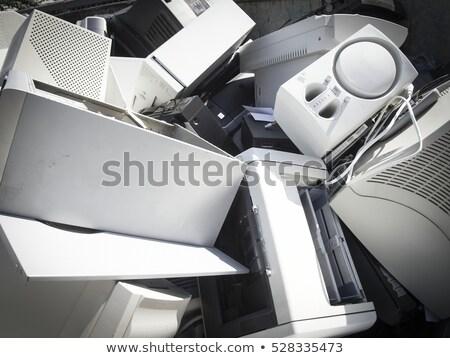 elektrik · elektronik · atık · bilgisayar · teknoloji · kablo - stok fotoğraf © pxhidalgo