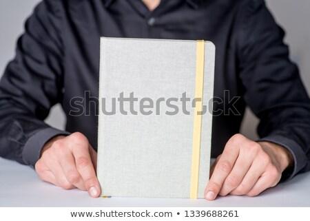 Papel lápiz borrador texto espacio de la copia Foto stock © stuartmiles