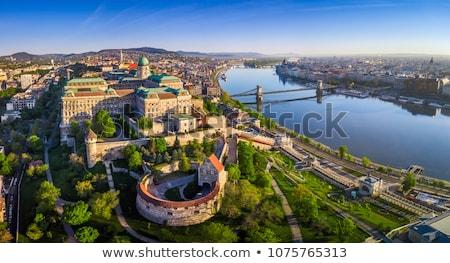 Danúbio rio madeira verão viajar navio Foto stock © mady70