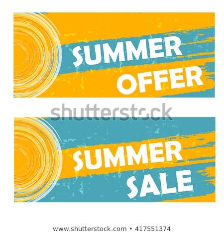 50 · Проценты · весны · продажи · горячей - Сток-фото © marinini
