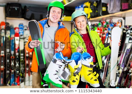 Sports Equipment Shopping Stock photo © Lightsource
