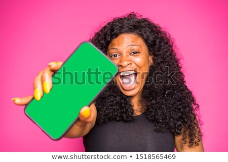Young woman showing her surprise Stock photo © jiri_miklo