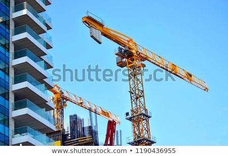 Kule açık gökyüzü iş gökyüzü inşaat Stok fotoğraf © tuulijumala