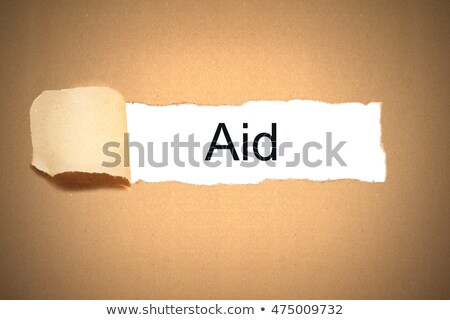 ebola torn paper foto stock © ivelin