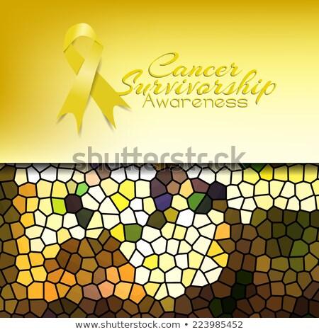 cancer survivorship awareness stock photo © maxmitzu