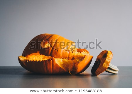 Pumpkin Smashed Stock photo © Lightsource