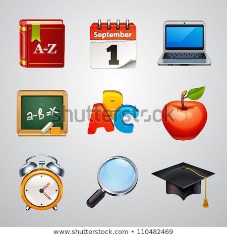 Araçları öğrenme kitaplar öğrenci bilim Stok fotoğraf © wittaya