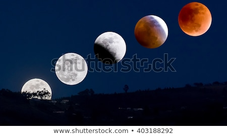 Lunar Eclipse Sequence Stock photo © pancaketom