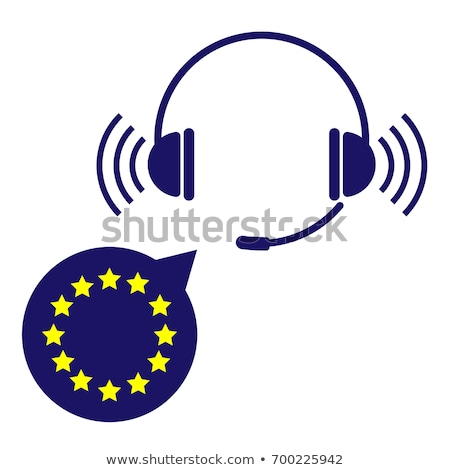 euro on speech bubble illustration design stock photo © alexmillos