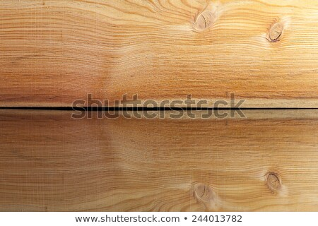Realistic wood veneer with interesting growth rings on the glass Stock photo © CaptureLight
