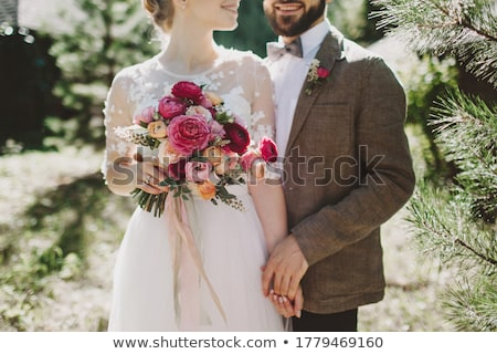 Bride and bridegroom Stock photo © Vg