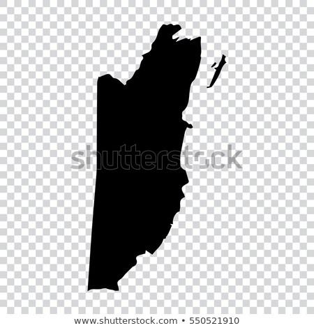 Térkép Belize különböző színek szimbólumok fehér Stock fotó © mayboro1964
