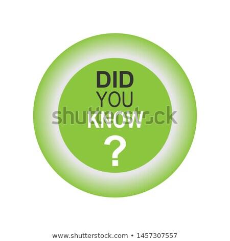 Stok fotoğraf: Ask Green Vector Icon Design