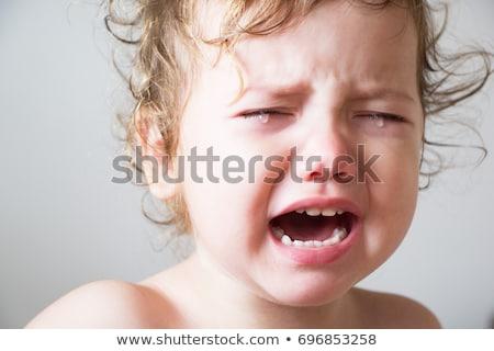 triste · infelice · bambino · piangere · lacrime · bambini - foto d'archivio © arrxxx
