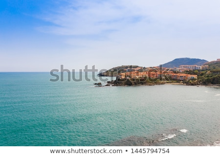coast of Cote Vermeille, Languedoc-Roussillon, France Stock photo © phbcz