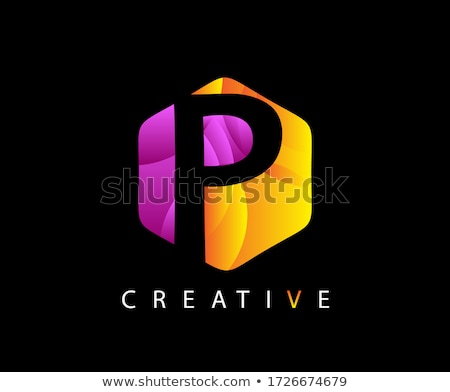 abstract business hexagon logo design Stock photo © blaskorizov