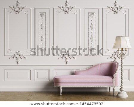 Room with chaise lounge an chair Stock photo © Paha_L