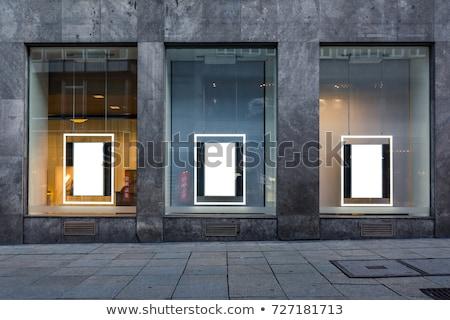 pláza · hosszú · expozíció · idő · üzlet · vásárlás · padló - stock fotó © paha_l