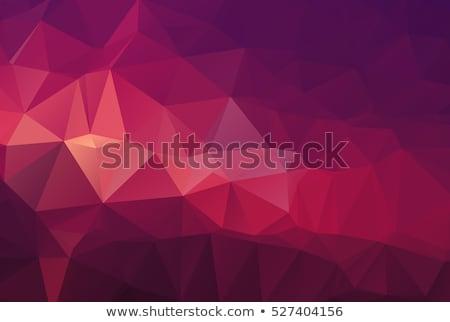Karanlık pastel mor soyut düşük çokgen Stok fotoğraf © patrimonio