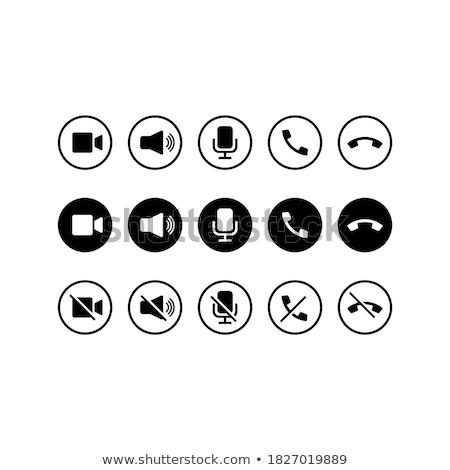 Mapa cámara icono viaje foto estudio Foto stock © kiddaikiddee