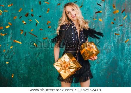 sorrindo · cabelo · retrato · belo · feliz - foto stock © konradbak