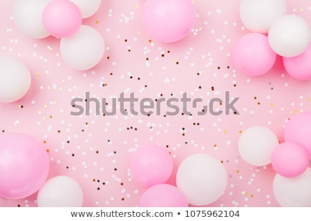 Blank Card with Balloons Stock photo © make