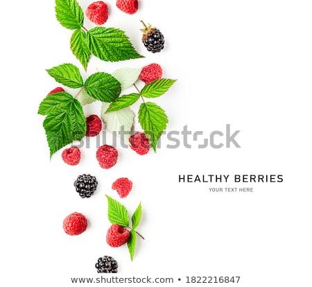 свежие малина фрукты Sweet Сток-фото © Digifoodstock