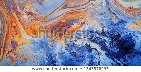 アクリル · 抽象的な · 絵画 · 乱雑な · カラフル - ストックフォト © fotoyou