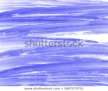 Large blue smeared hand painting Stock photo © ozgur