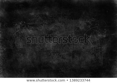 preto · textura · efeito · pintar · vazio · superfície - foto stock © feelisgood