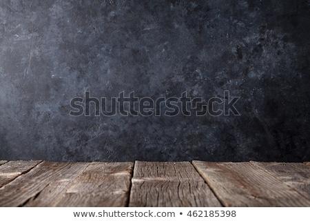 Tanul fa asztal szó iroda gyermek diák Stock fotó © fuzzbones0