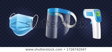 Set of medical equipment Stock photo © bluering