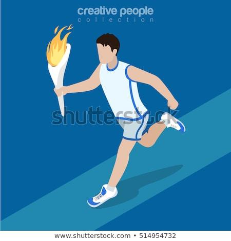 çocuklar · maraton · örnek · çocuklar · çocuk · öğrenci - stok fotoğraf © bluering