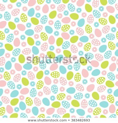 Foto stock: Páscoa · colorido · ovos · perfeito · papel · de · parede
