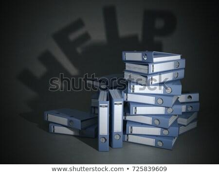 Foto stock: Empresário · imposto · documento · anel · corporativo · contador