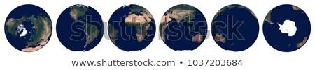 verde · planeta · espaço · árvore · nuvens · grama - foto stock © noedelhap