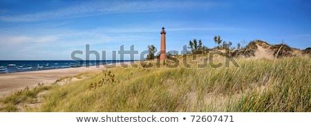 Piccolo faro Michigan Foto d'archivio © benkrut