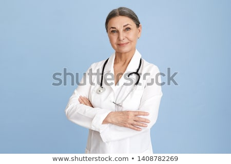 Female doctor with stethoscope  stock photo © LightFieldStudios