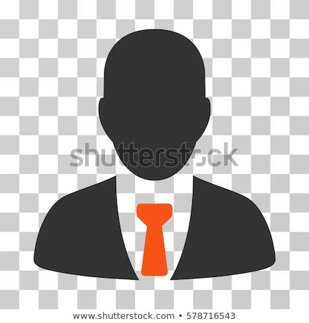 Lavoratore stipendio icona stile grafica grigio Foto d'archivio © ahasoft