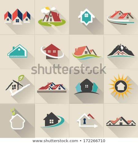 Collection of Creative Real Estate Logo design for brand identit Stock photo © DavidArts
